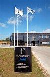 Papirgrdens nye hovedsde og kontorforsynig i holbk. foto: pf john